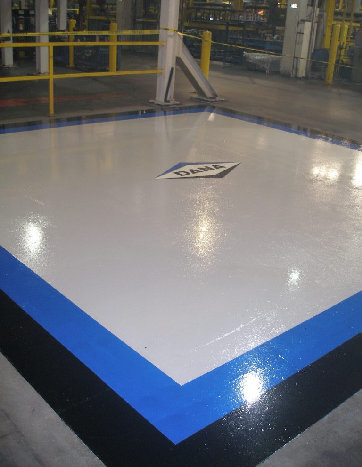 Urethane epoxy with clear