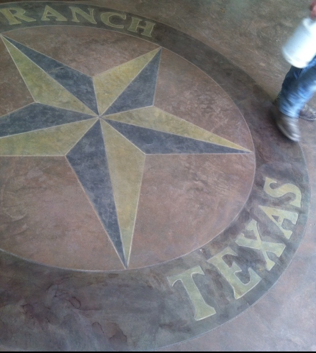 TX star for a ranch