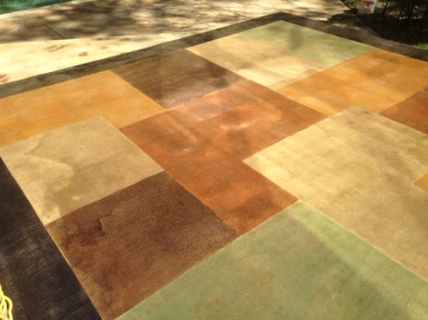 various stained tones