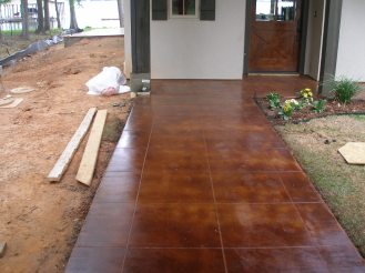 cola stained entry