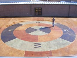 giant compass
