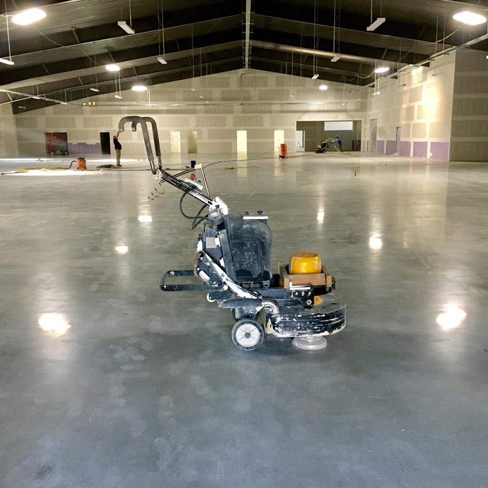 Diamond polished warehouse